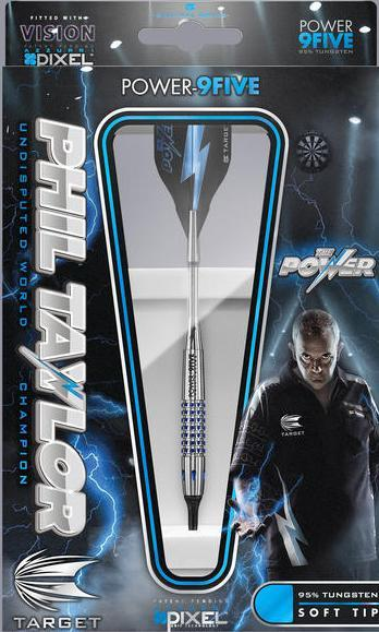Target Softdart Phil Taylor 9-Five Gen 1, 95% Tungsten