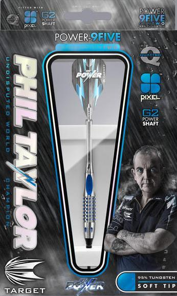 Target Softdart Phil Taylor 9-Five Gen 2 95% 18g 95% Tungsten