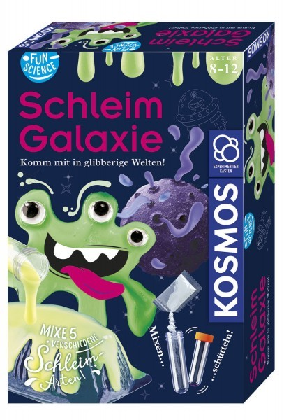 Experimentierkasten: Fun Science Schleim-Galaxie