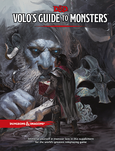 Dungeons & Dragons: Volo's Guide to Monsters (English)