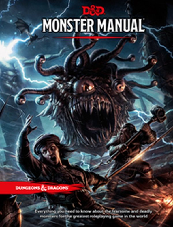 Dungeons & Dragons: Monster Manual TRPG (English)