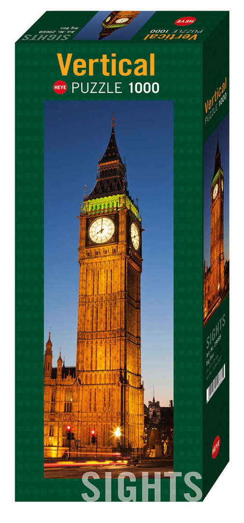 Puzzle Sights: Big Ben