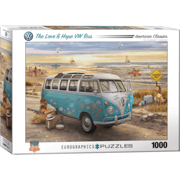 "Puzzle ""The love & hope VW Bus"""