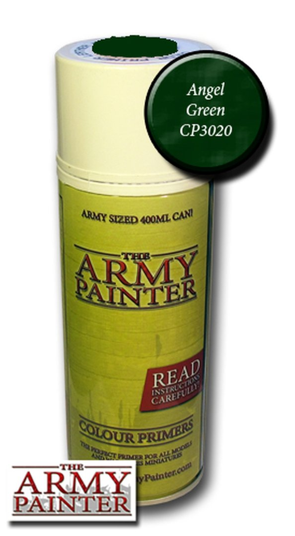 Army Painter Primer: Angel Green Spray
