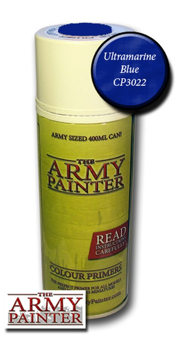 Army Painter Primer: Ultramarine Blue Spray