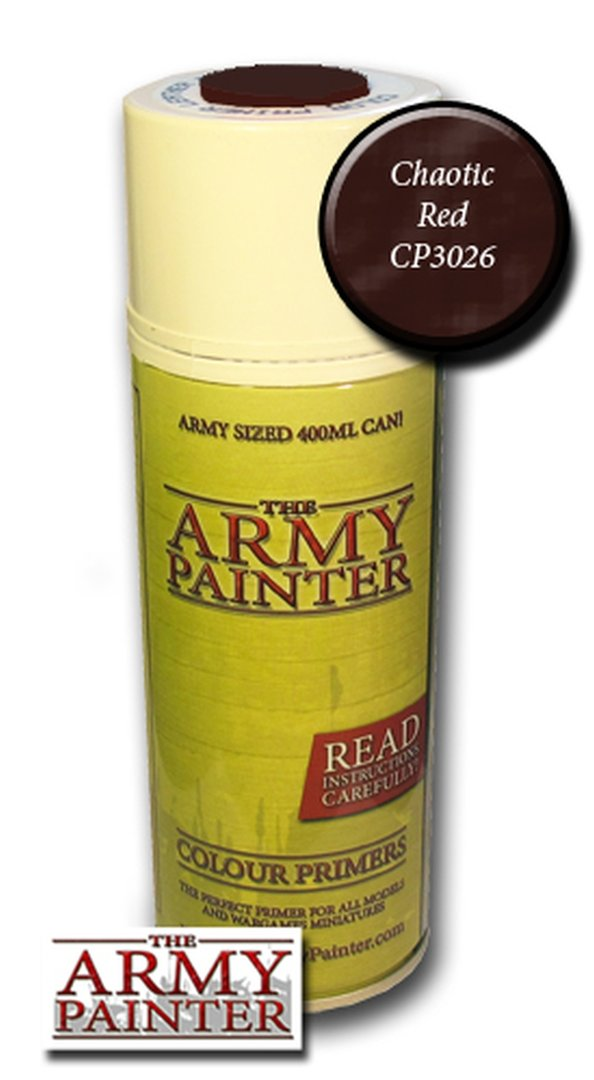 Army Painter Primer: Chaotic Red Spray