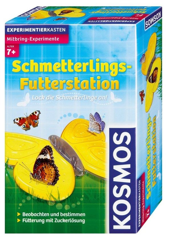 Mitbringexperiment: Schmetterling Futterstation