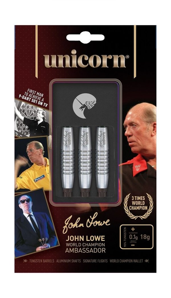Unicorn Softdart World Champion John Lowe, 18g, 90%