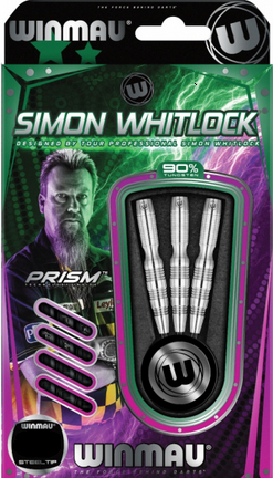 Winmau Steeldart Simon Whitlock 2016, 90% Tungsten