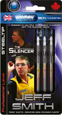 Winmau Steeldart Jeff Smith, 21g, 90% Tungsten