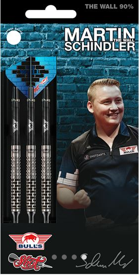 "Bull's / Shot Softdart Martin Schindler ""The Wall"", 18g, 90% Tungsten"